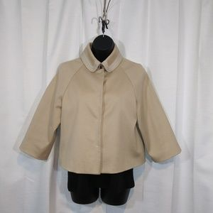 Last call- Tarhari cropped light tan jacket. Sz 6.